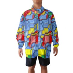 3d shapes Wind Breaker (Kids)