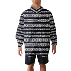 Alien Stripes Print Wind Breaker (Kids)