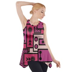 Modern BoreDoodle Side Drop Tank Tunic