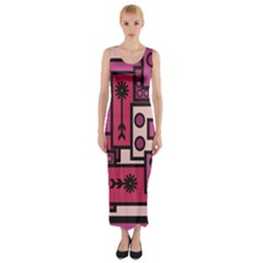 Modern Boredoodle Fitted Maxi Dress