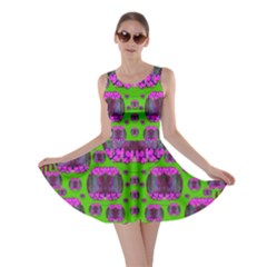 Ladies Looking At Beauty And Love Skater Dress