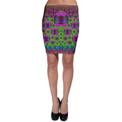 Ladies Looking At Beauty And Love Bodycon Skirts