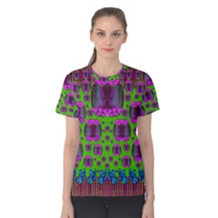 Ladies Looking At Beauty And Love Women s Cotton Tee