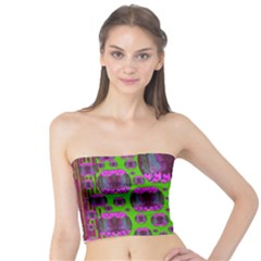 Ladies Looking At Beauty And Love Tube Top