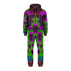 Ladies Looking At Beauty And Love Hooded Jumpsuit (Kids)