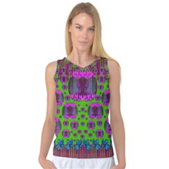 Ladies Looking At Beauty And Love Women s Basketball Tank Top