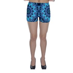 Star Connection, Abstract Cosmic Constellation Skinny Shorts