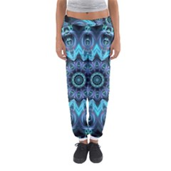 Star Connection, Abstract Cosmic Constellation Women s Jogger Sweatpants