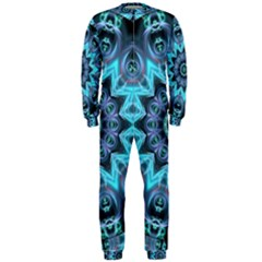 Star Connection, Abstract Cosmic Constellation Onepiece Jumpsuit (men)