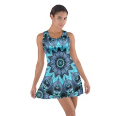 Star Connection, Abstract Cosmic Constellation Racerback Dresses
