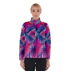 Cosmic Heart of Fire, Abstract Crystal Palace Winterwear