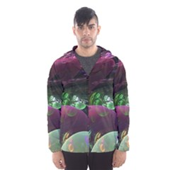 Creation Of The Rainbow Galaxy, Abstract Hooded Wind Breaker (Men)