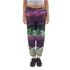 Creation Of The Rainbow Galaxy, Abstract Women s Jogger Sweatpants