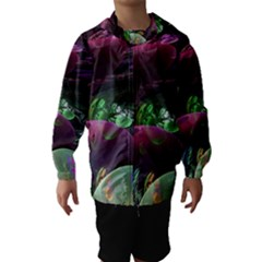 Creation Of The Rainbow Galaxy, Abstract Hooded Wind Breaker (Kids)