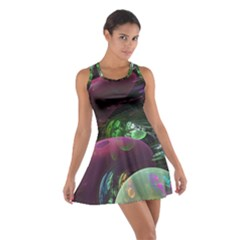 Creation Of The Rainbow Galaxy, Abstract Racerback Dresses