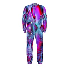 Crystal Northern Lights Palace, Abstract Ice  Onepiece Jumpsuit (kids)