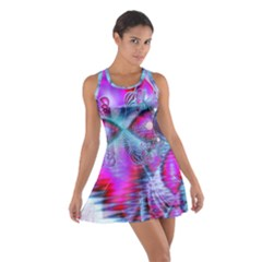 Crystal Northern Lights Palace, Abstract Ice  Racerback Dresses