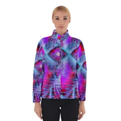Crystal Northern Lights Palace, Abstract Ice  Winterwear
