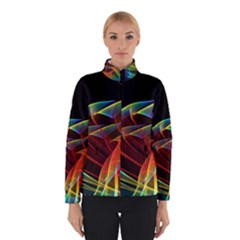 Dancing Northern Lights, Abstract Summer Sky  Winterwear