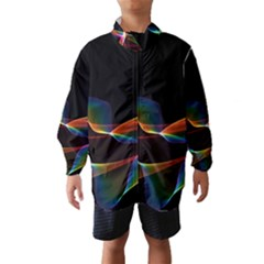 Fluted Cosmic Rafluted Cosmic Rainbow, Abstract Winds Wind Breaker (kids)