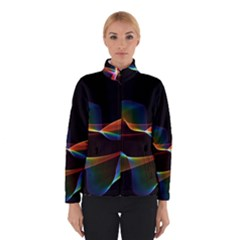 Fluted Cosmic Rafluted Cosmic Rainbow, Abstract Winds Winterwear