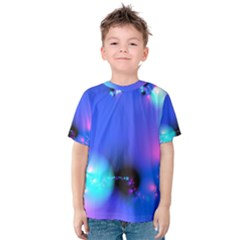 Love In Action, Pink, Purple, Blue Heartbeat 10000x7500 Kid s Cotton Tee
