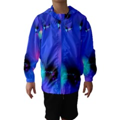 Love In Action, Pink, Purple, Blue Heartbeat 10000x7500 Hooded Wind Breaker (Kids)