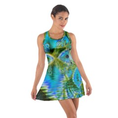 Mystical Spring, Abstract Crystal Renewal Racerback Dresses
