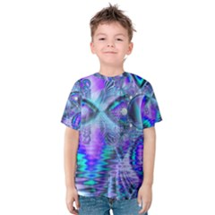 Peacock Crystal Palace Of Dreams, Abstract Kid s Cotton Tee