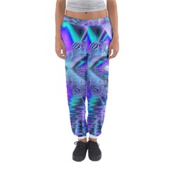 Peacock Crystal Palace Of Dreams, Abstract Women s Jogger Sweatpants