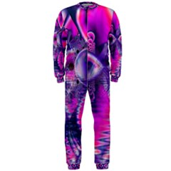 Rose Crystal Palace, Abstract Love Dream  Onepiece Jumpsuit (men)