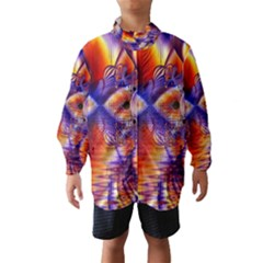 Winter Crystal Palace, Abstract Cosmic Dream (lake 12 15 13) 9900x7400 Smaller Wind Breaker (Kids)