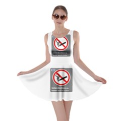 No Smoking  Skater Dress