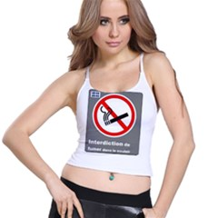 No Smoking  Spaghetti Strap Bra Top