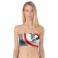 No Smoking  Bandeau Top