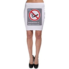 No Smoking  Bodycon Skirts