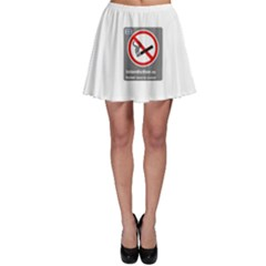 No Smoking  Skater Skirt