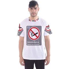 No Smoking  Men s Sport Mesh Tee