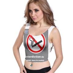 No Smoking  Crop Top