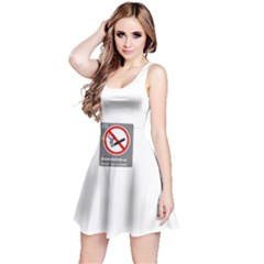 No Smoking  Reversible Sleeveless Dress