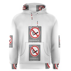 No Smoking  Men s Pullover Hoodie