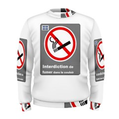 No Smoking  Men s Sweatshirt