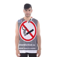 No Smoking  Men s Basketball Tank Top