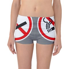 No Smoking  Boyleg Bikini Bottoms