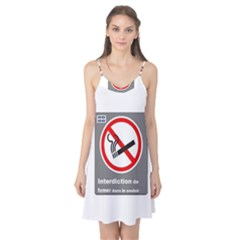 No Smoking  Camis Nightgown