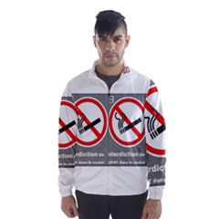 No Smoking  Wind Breaker (Men)