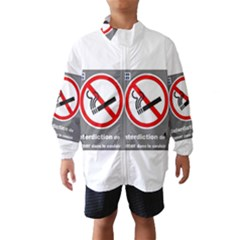 No Smoking  Wind Breaker (kids)