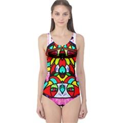 Upside Down One Piece Swimsuit