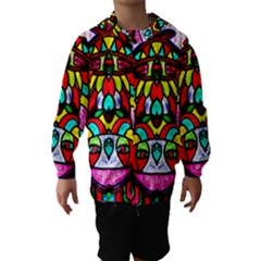 Upside Down Hooded Wind Breaker (Kids)