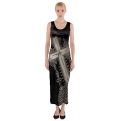 Al238523055 Fitted Maxi Dress